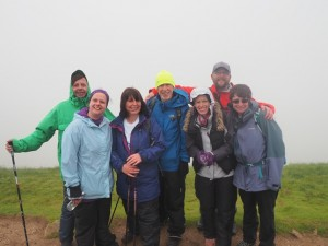 On the top of Whernside