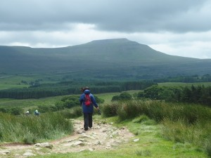 Our next challenge - Ingleborough awaits